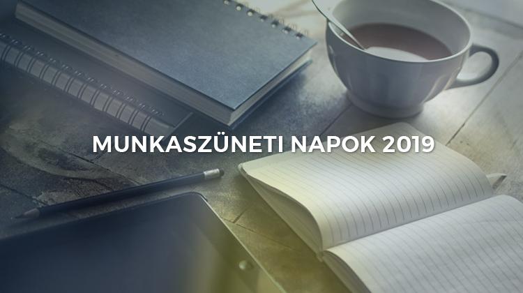 ünnepnapok 2019 naptár Munkaszüneti napok 2019 ben: naptár ünnepekkel és a hosszú  ünnepnapok 2019 naptár