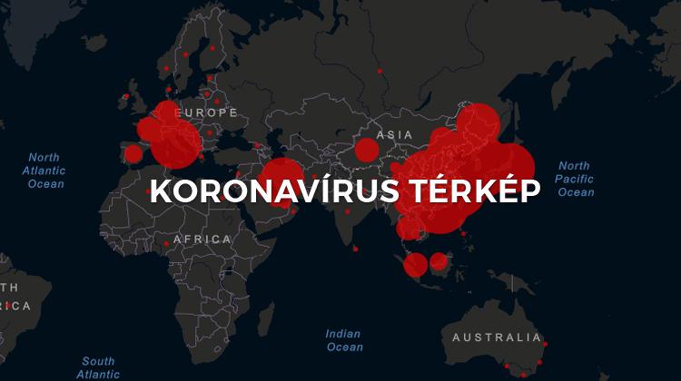 corona virus terjedése
