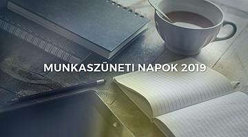 2019 ös naptár ünnepekkel Munkaszüneti napok 2019 ben: naptár ünnepekkel és a hosszú  2019 ös naptár ünnepekkel